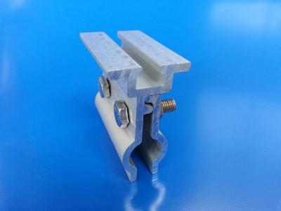 430点式夹具 太阳能光伏支架配件 430点式直立锁边彩钢瓦夹具